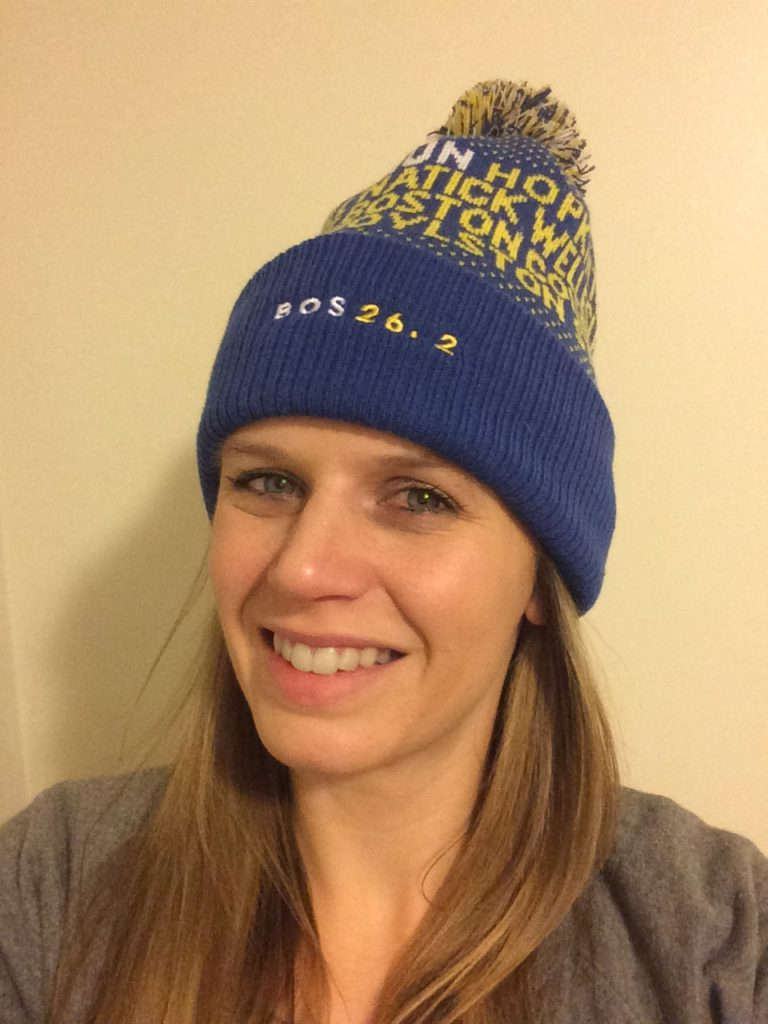 I saw this knit hat back in December and knew I had to have it! I  absolutely love the Boston Marathon as well as the city of Boston and  wanted to show ... 265def65c18